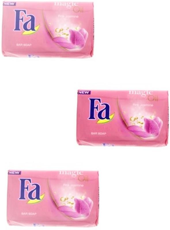 Fa Magic Oil Pink Jasmine Bar Soap(175 g, Pack of 3)