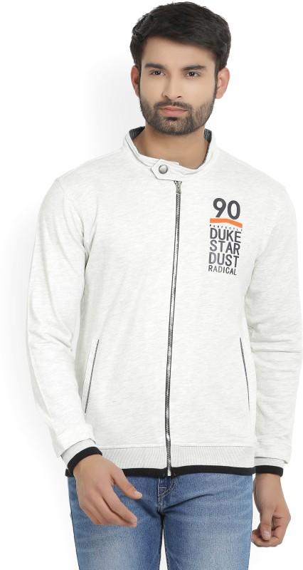 Duke Full Sleeve Solid Mens Sweatshirt