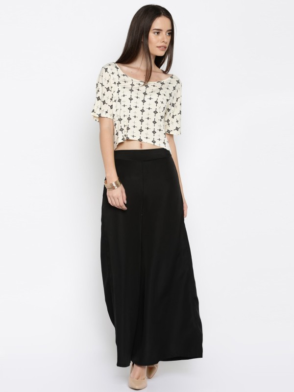 RIGOGLIOSO Regular Fit Women Black Trousers