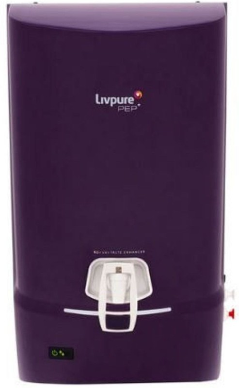 Livpure pep plus FS 7 L RO + UV Water Purifier(Purple)