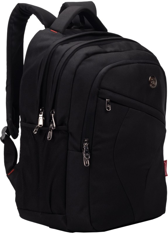 Cosmus Leeds Rugged School Bags with Laptop section for Class 6-9 33 L Laptop Backpack(Black)