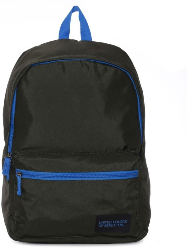 United Colors of Benetton Casual 21 L Backpack(Black)