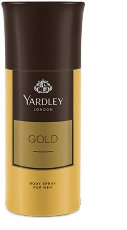 yardley GOLD Body Spray - For Men(150 ml)