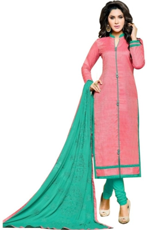 Divastri Jute Embroidered Salwar Suit Dupatta Material(Un-stitched)