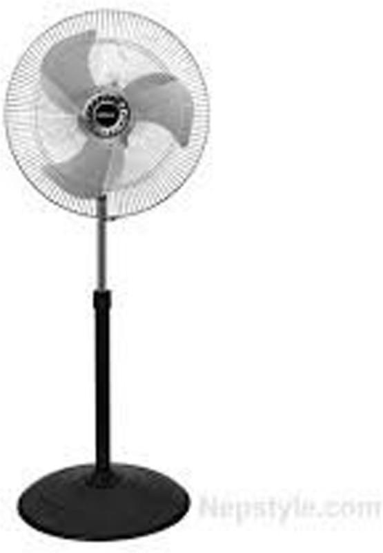 Crompton Storm 2, 450MM 3 Blade Pedestal Fan(grey)