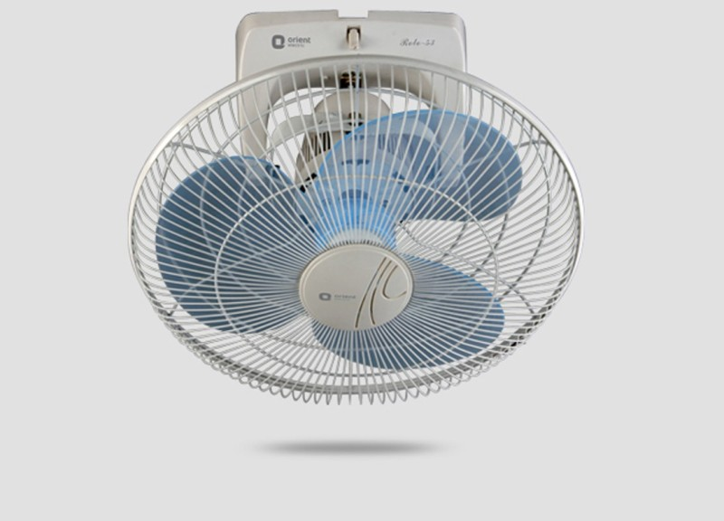 Orient Roto 53 Cabin fan 3 Blade 300mm Wall Fan(white)