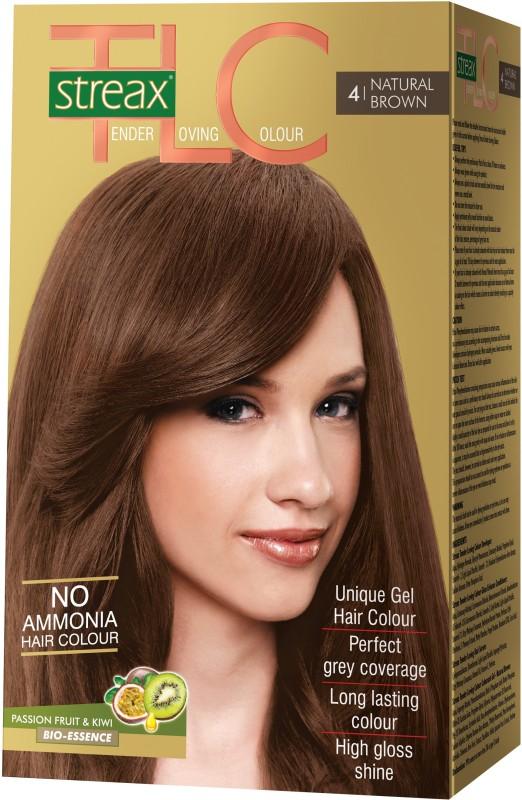 STREAX Tender Loving Color Hair Color(Natural Brown 4)