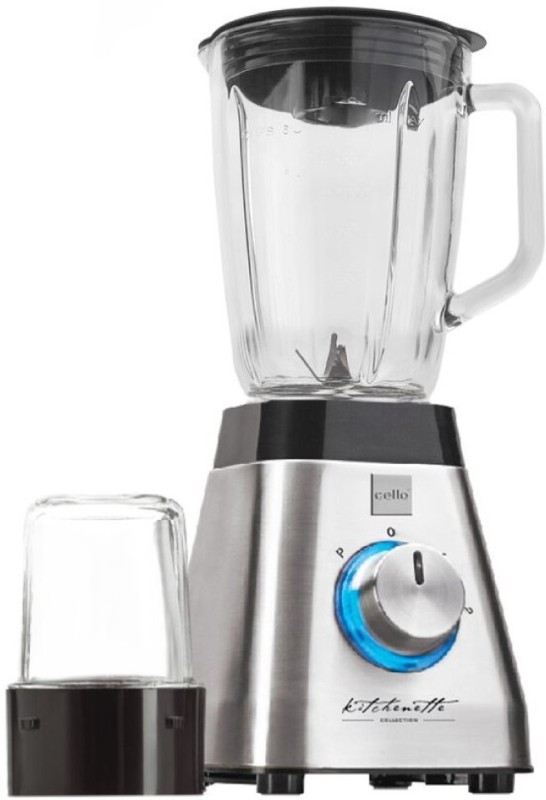 Cello BNG-100B 500 W Juicer Mixer Grinder(Silver, Transparent, 2 Jars)