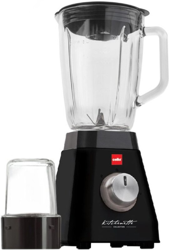 Cello BNG-100A 500 W Juicer Mixer Grinder(Black, Transparent, 2 Jars)