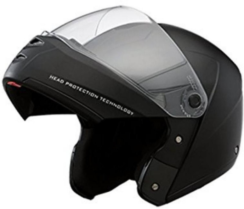 MOTOFLY flip up Motorbike Helmet(Black)