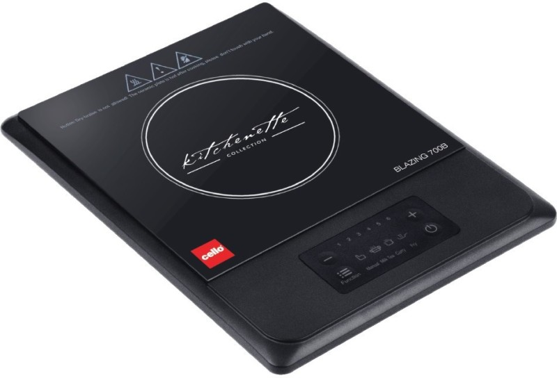 Cello BLAZING700B Induction Cooktop(Black, Touch Panel)
