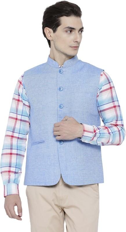 Neva Sleeveless Solid Men Jacket