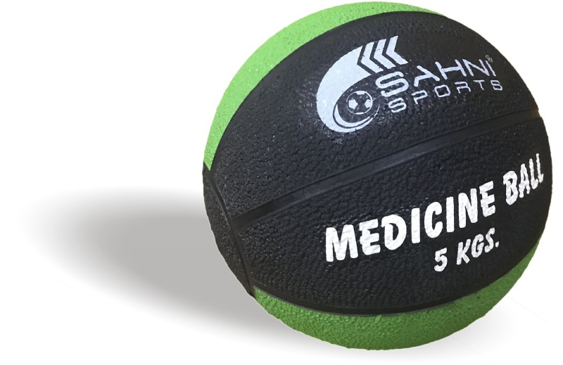 Sahni Sports Pro Medicine Ball Medicine Ball(Weight:  5 Kg, Green, Black)