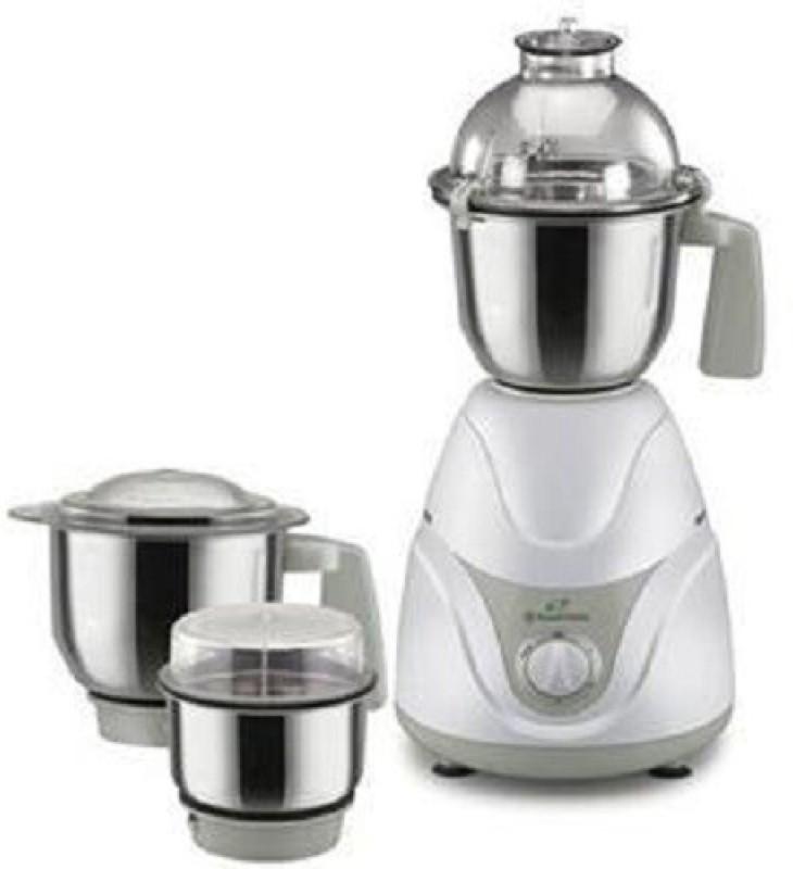 Russell Hobbs RMG600 600 Juicer Mixer Grinder(White, Grey, 3 Jars)