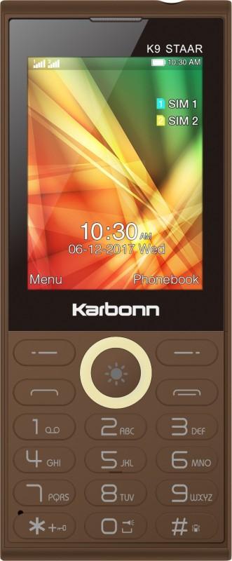 Karbonn K9 Staar(Coffee) image