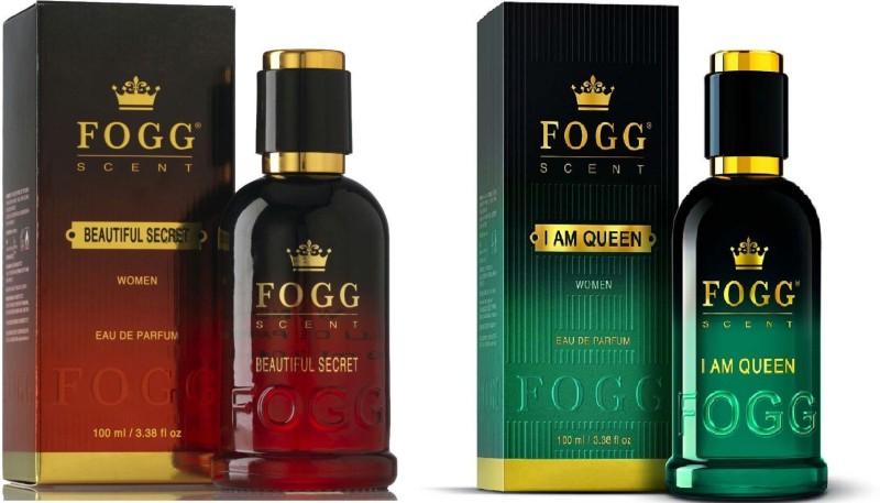 Fogg Scent Beautiful Secret and I am Queen EDP Perfume Pack of 2 (90ML each) Eau de Parfum - 180 ml(For Women)