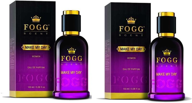 Fogg Scent Make My Day EDP Perfume Pack of 2 (90ML each) Eau de Parfum - 180 ml(For Women)
