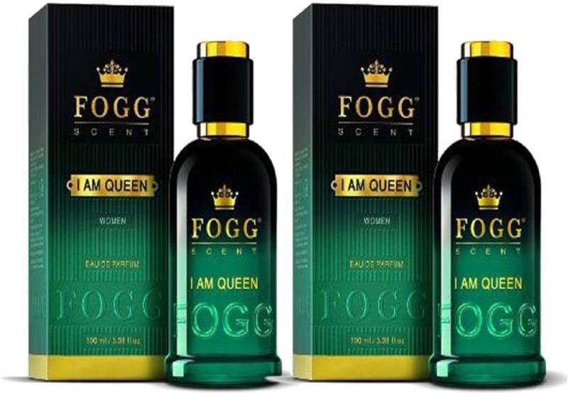 Fogg Scent I Am Queen EDP Perfume Pack of 2 (90ML each) Eau de Parfum - 180 ml(For Women)