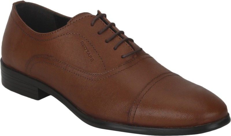 Red Tape Men Leather Lace Up For Men(Tan)