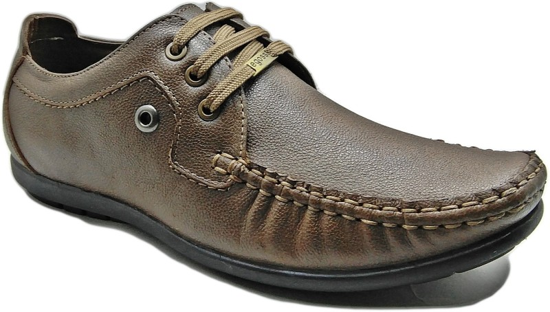 Egoss Men Tan Formal Lace Up For Men(Brown)