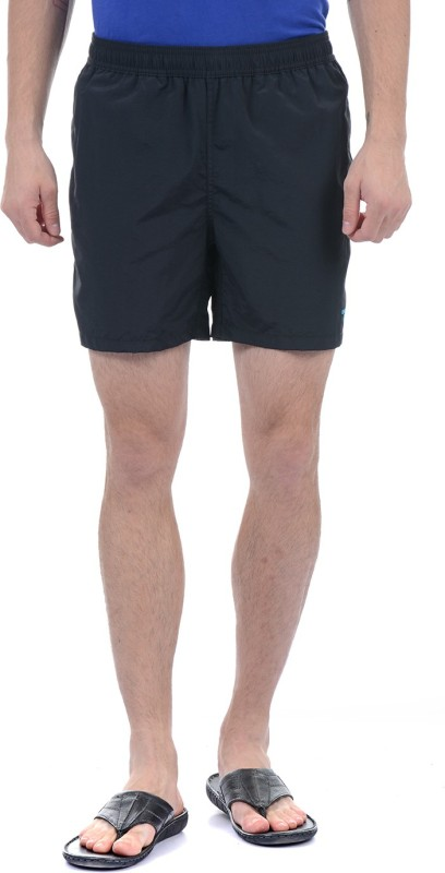 Gant Solid Mens Black Beach Shorts