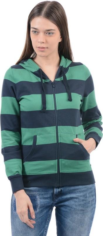 Pepe Jeans Full Sleeve Striped Women Sweatshirt