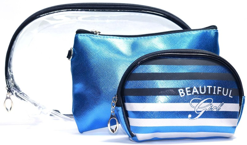 Color Fever Cosmetic Pouch(Blue)