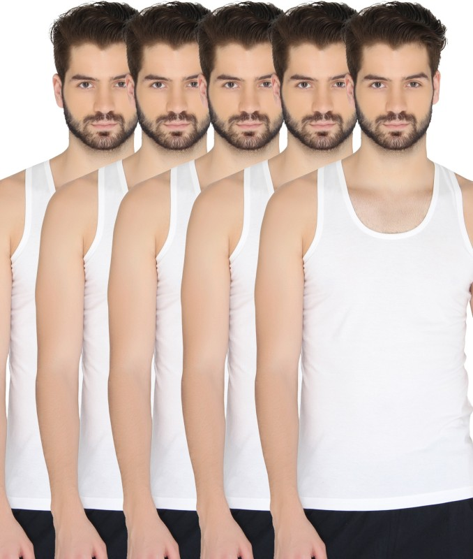Chromozome Men Vest(Pack of 5)