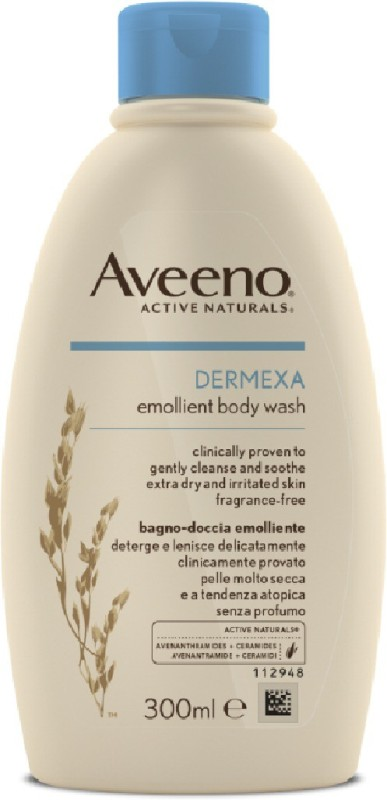 Aveeno Active Naturals Dermexa Emollient Body Wash 300ml(300 ml)