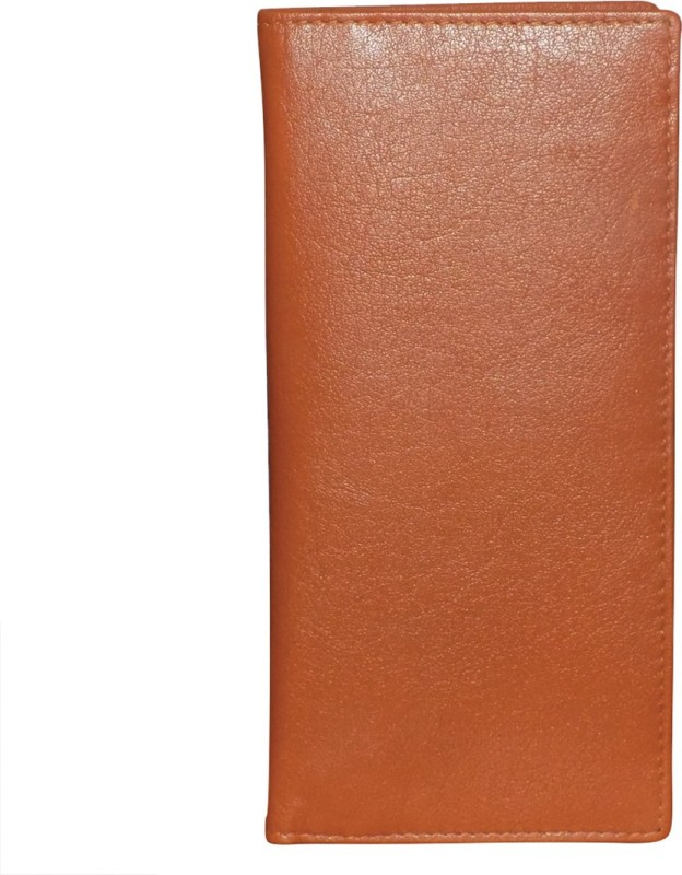 Style 98 Girls Tan Genuine Leather Wrist Wallet(15 Card Slots)