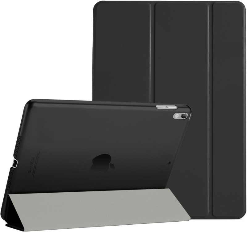 DMG Book Cover for Apple iPad Pro 10.5 inch 2017(Black, Artificial Leather,...