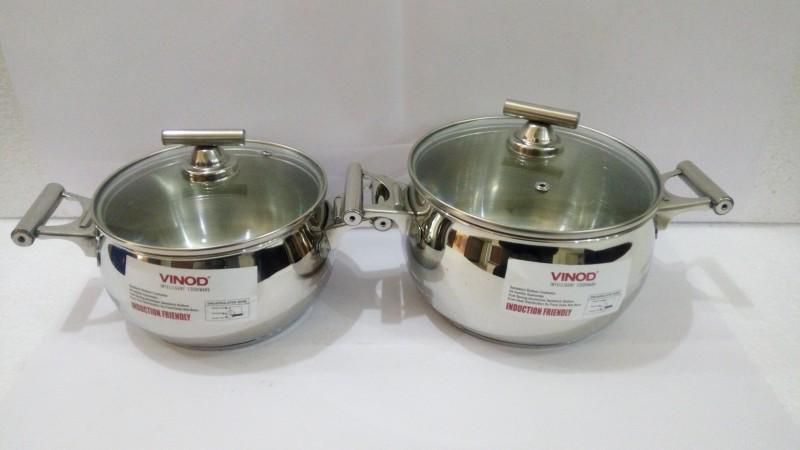 Vinod Pack of 2 Casserole Set(2.5 L, 2.0 L)