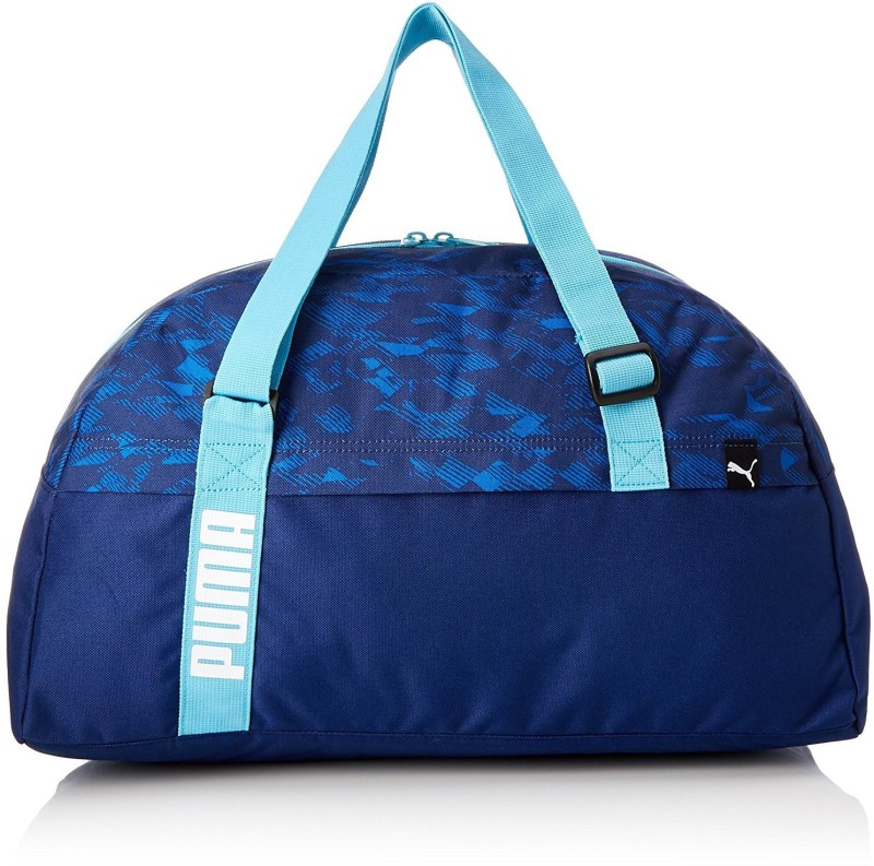 Puma Core Active Sportsbag M Gym Bag(Blue)