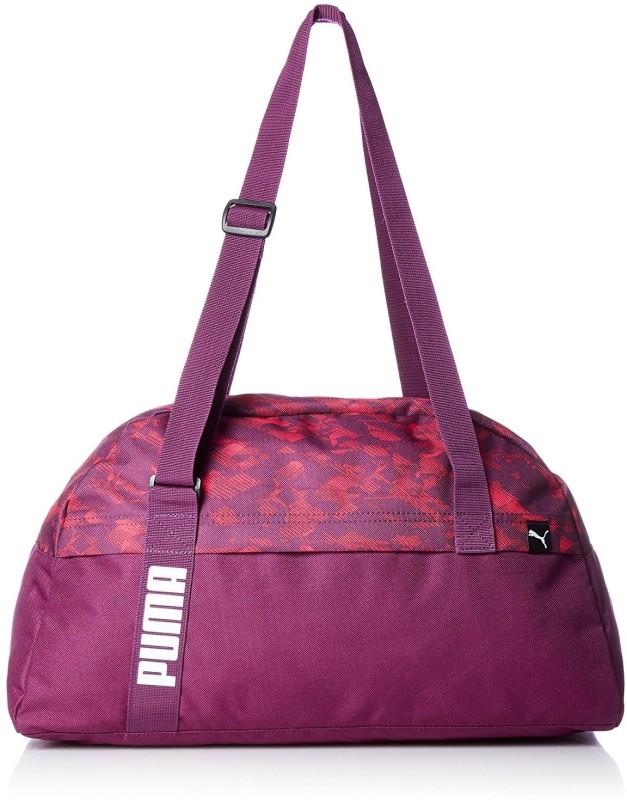 Puma Core Active Sportsbag M Gym Bag(Purple)