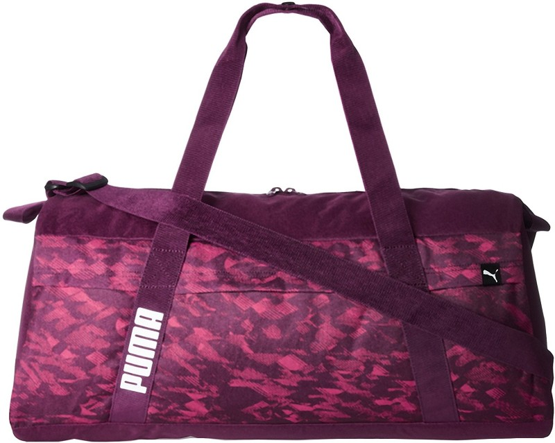 Puma Core Active Sportsbag L Gym Bag(Purple)