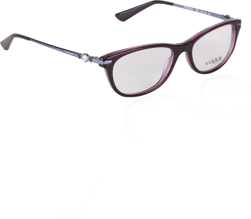 Vogue Full Rim Cat-eyed Frame(51 mm)