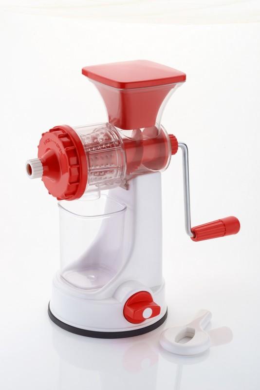 Global Voice Fruit & Veg. Plastic Hand Juicer(Red, White Pack of 1)