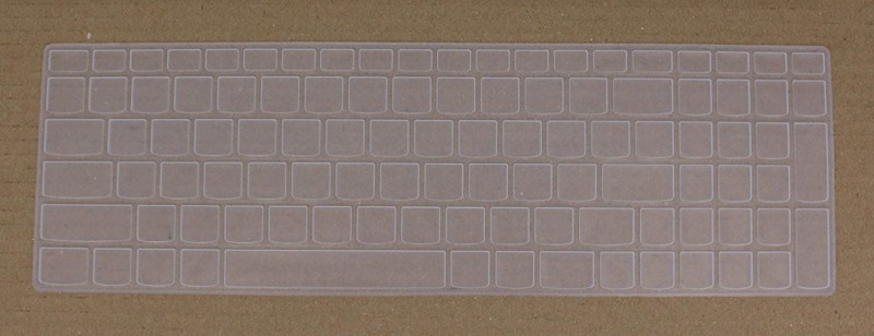 Saco Chiclet for Lenovo Z50-70 Notebook (59-442262) Laptop Keyboard Skin(Transparent)