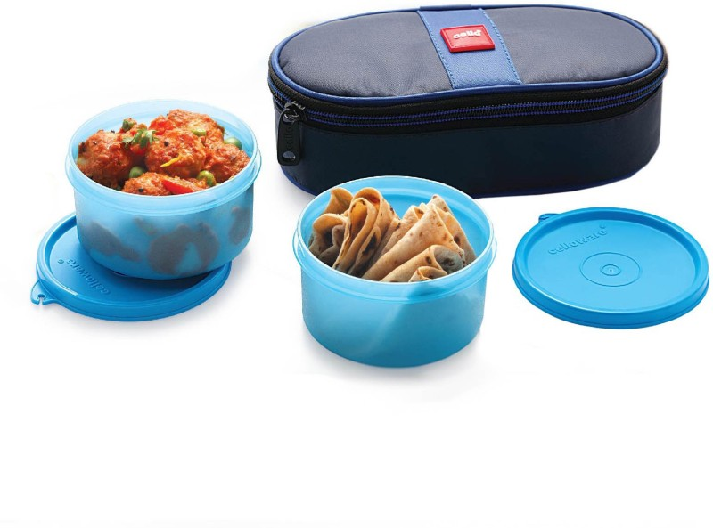 Cello Fresh Joy 2 Containers Lunch Box(625 ml)