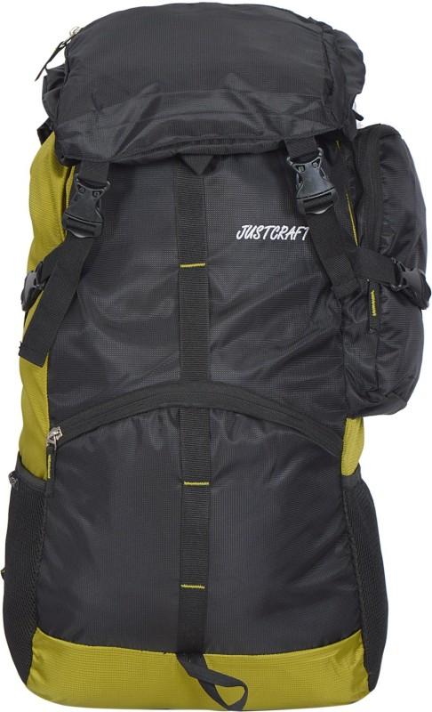 Justcraft Rocky Rucksack - 55 L(Black, Green)