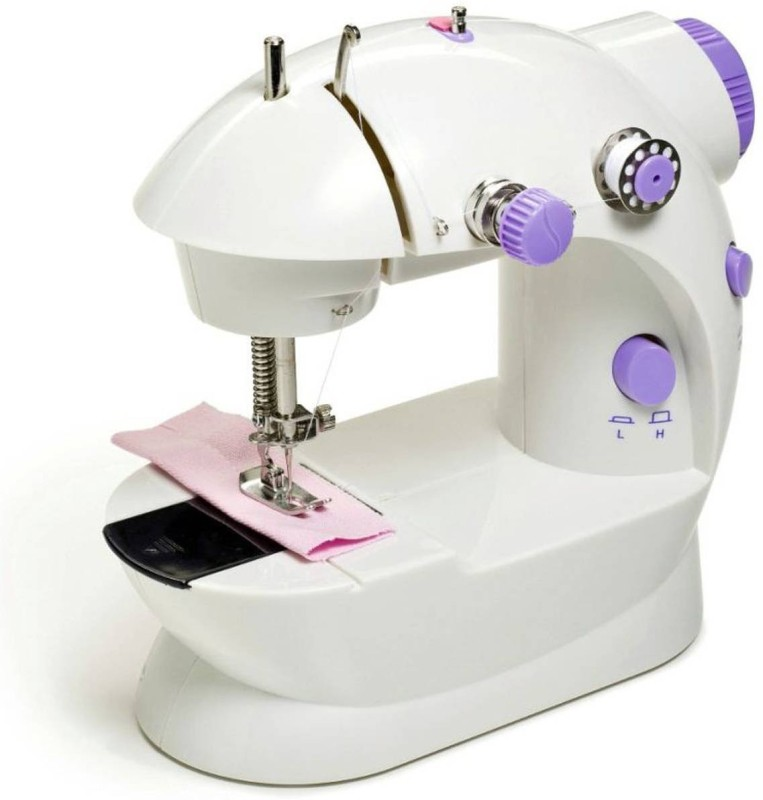 Tradeaiza Mini Portable Sewing Machine with Accesories Electric Sewing Machine( Built-in Stitches 1)