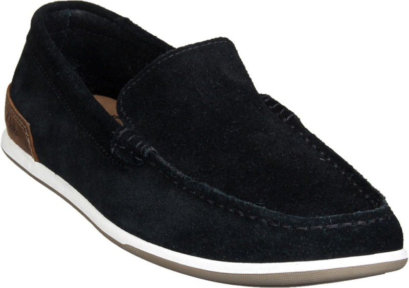 Clarks Loafers For Men(Black)