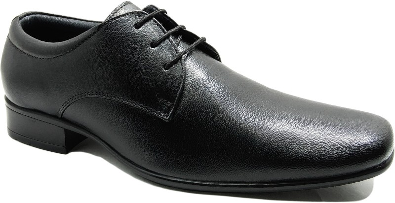 Egoss Men Black Formal Lace Up For Men(Black)