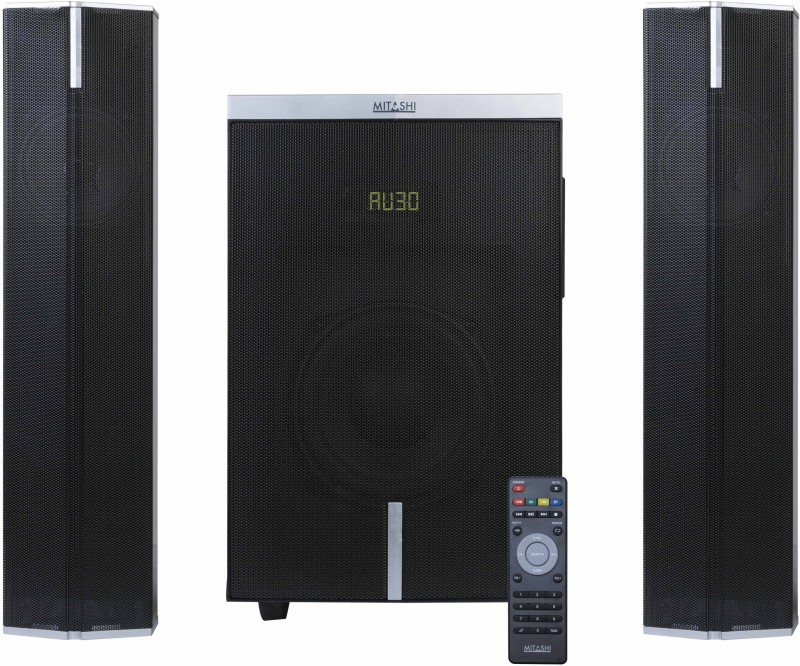 Mitashi HT 5260 BT 35 W Bluetooth Home Audio Speaker(Black, 2.1 Channel)