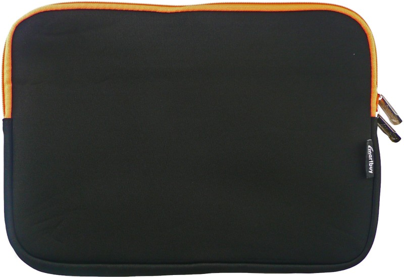 Emartbuy Sleeve for Micromax Canvas Lapbook L1160(Black / Orange, Laptop Case, Cloth)