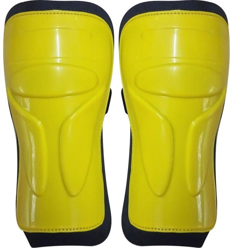 WASAN Football Shin Guard (14-18 years) Shin Guard(Medium, Yellow)