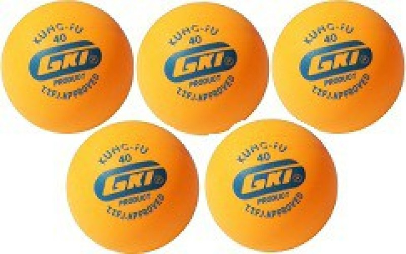 GKI Kung Fu Ping Pong Ball(Pack of 1, Multicolor)