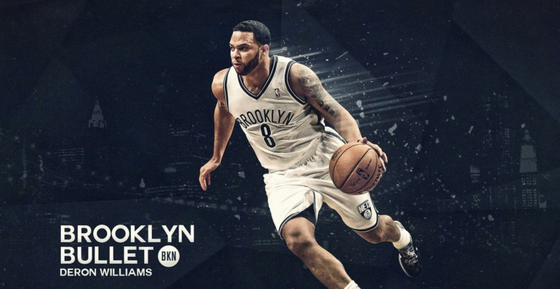PosterLane PL Wall Poster deron_williams_brooklyn_point_guard_basketball_player_quarterback_sports_ball_ 13*19 inches Paper Print(19 inch X 13 inch, Rolled)