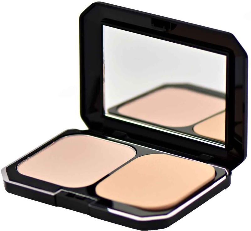 GlamGals 2 in1 Two Way Cake Compact Makeup + Foundation SPF 15, Compact - 12 g(Beige)
