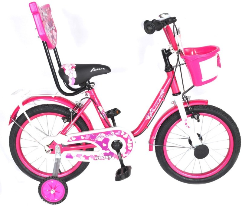 Kross Passion Sporty 2018 Bike For Kids Age Of 3-5yrs Pink 14 T Single Speed Recreation Cycle(Multicolor)